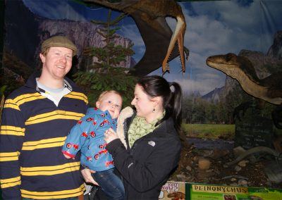Dinosaur Explorers can be very young!