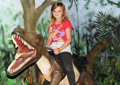 Derek the Dinosaur Souvenir Photo