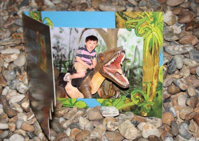 Dinosaur Souvenir Photo