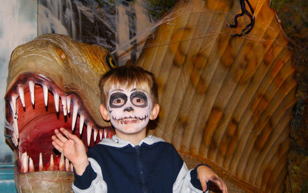 Dinosaur Halloween Horrors