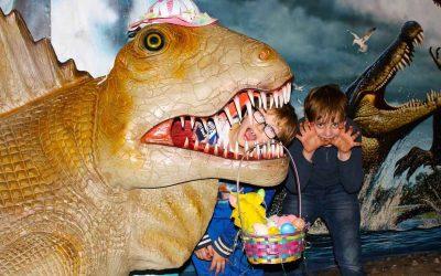 Easter Dinosaur Egg Hunt