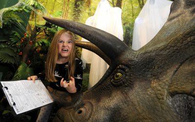 Dinosaur Half Term Halloween Horrors