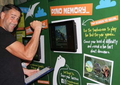 Interactive Dino Memory Game