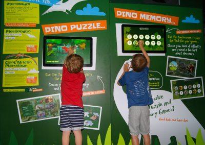 Interactive Dino Games