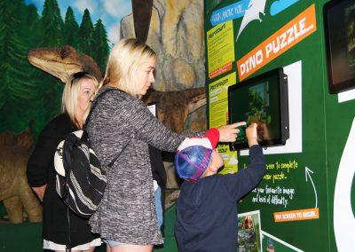 Interactive Dino Puzzle